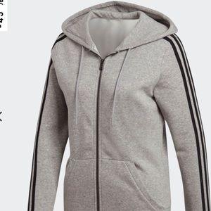 adidas Tops - 3-STRIPES HOODIE